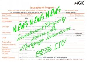 Investment 85 LTV