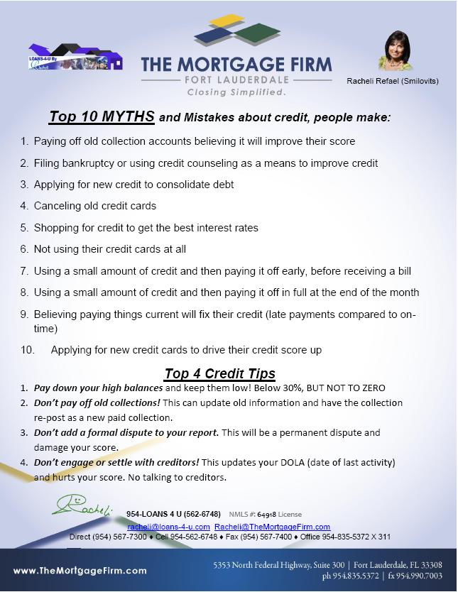 10_Credit_Myths