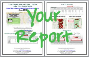 Sample Report The Corals